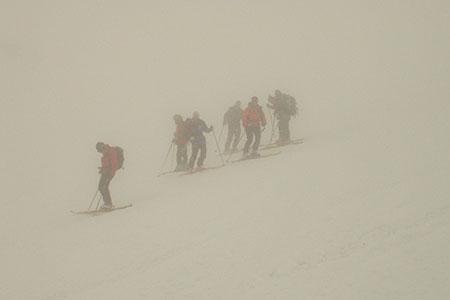 Orientierung mit GPS vom Schafsiedel zur Bamberger Hütte, Kitzbüheler Alpen