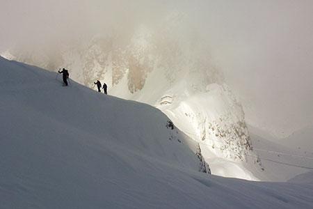 An der Fonda Savio Hütte vorbei zur F. della Neve