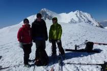 Auf dem Monte Tremoggia 2350m, im Hintergrund der Monte Camicia 2564m