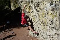 Besonders die methodischen Fähigkeiten und spezielle Klettertechniken werden auf diesem Lehrgang trainiert.