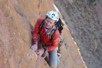 Scharfer, rötlicher Kalk, super zu klettern. Nach 5 Stunden war's mit der Kletterei leider schon vorbei…
