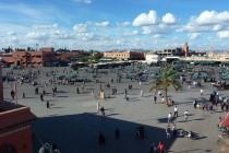 Place Djeema el Fna in Marrakesch