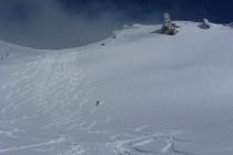 Der Gipfelhang vom Piz Surgonda war einfach super