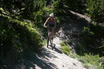 Tolle Abwechslung zum Klettern: Biketour mit Ausblick…