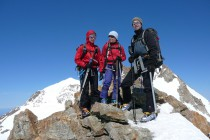 Bestes Wetter und Gipfel-Aussicht bis...