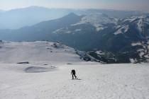 Wenn um diese Jahreszeit noch so viel Schnee liegt, muß man einfach auf Skitour gehen…