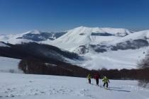 Der Aufstieg zum M. Argentella 2200m wurde zunehmend windig.