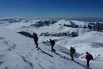 Aufstieg zum M. Porche 2235m.
