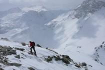 Am Gipfel des Curnasel 2811m, Ausgangspunkt war die Bahnstation Alpe Grüm östlich des Piz Palü, die…