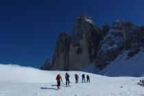 Dieses Mal von Misurina über die Forc. del Col de Mezo...