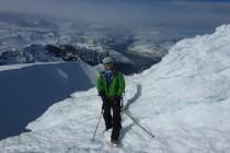 Store Kagtinden 1228m, Gipfelpilz mit viel Anraum