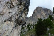 Übung technisch Klettern...