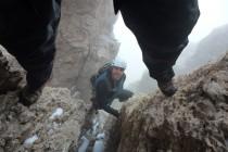 Der schwierige Enzensberger-Kamin wird allerdings durch eine leichtere Variante (siehe Bild!)...
