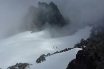Wolkenspiel am Fünffingerstock 2994m