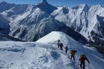 Kurz vor dem Gipfel...