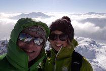 Am Gipfel der Lacherspitze...