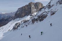 Unsere letzte Skitour führte uns zur...