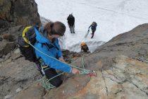 ...Obertaljoch eine Steilstufe zu überwinden