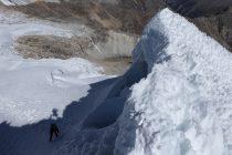 Letzte Steilstufe vor dem Gipfel...