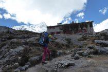 Nevado Pisco 5760m und Rifugio Peru 4660m