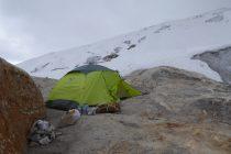 Hochlager (5030m) am Vallunaraju