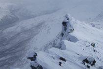 Am Gipfelgrat des Rombakstotta 1230m über Narvik.