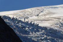 Eistürme in der Nähe der Tierberglihütte