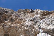 Am ersten schönen Tag in der Demetz-Führe an der Gr. Cirspitze