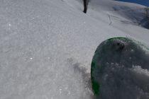 Nächtlich entstandener Oberflächenreif